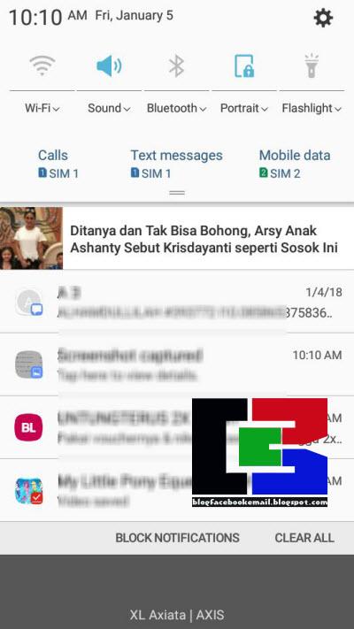 saya terus mendapat notifikasi iklan yang terus muncul ibarat ketika saya mendapat n Cara Menghentikan Notifikasi Iklan UC Browser Dg Cepat & Mudah